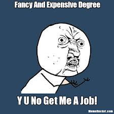 Y U No (college) Meme