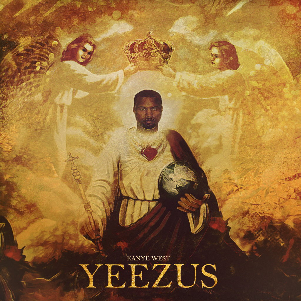 Kanye West will be going on tour this month and yes  it is a big deal    Yeezus Real Album Cover