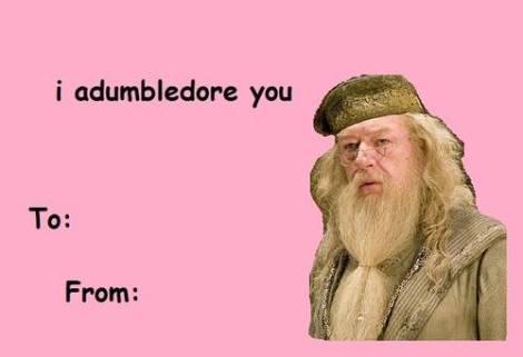 dumbledore vday