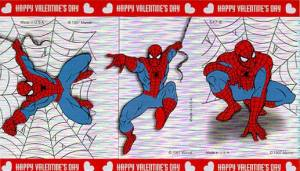 spidey vday card