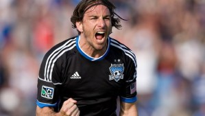 SJ Earthquake's Alan Gordon