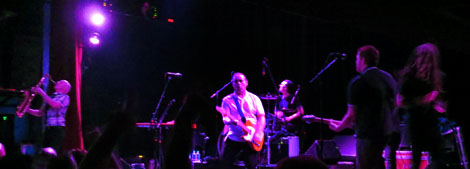 The English Beat works the crowd into a dance frenzy at the Gothic Theatre, May 22, 2015.